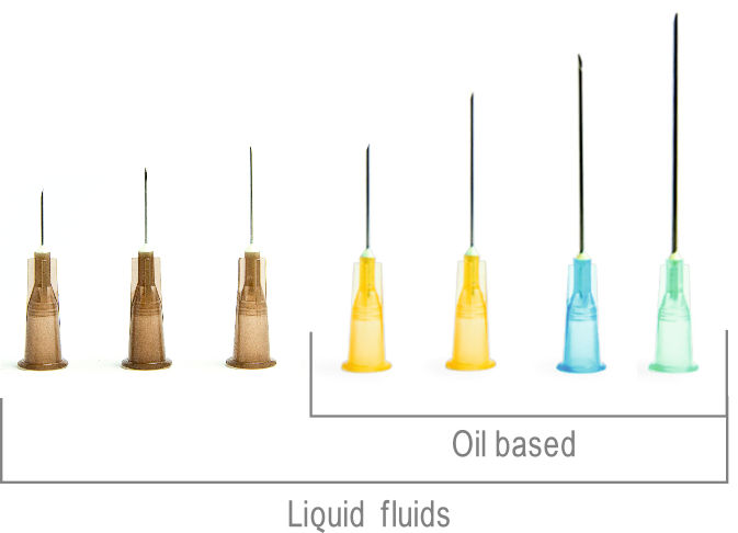 All The Needles Is Used For Liquid Fluid With A Thickness On 0 5 Mm Or Above Are Also Oil Based Medicine
