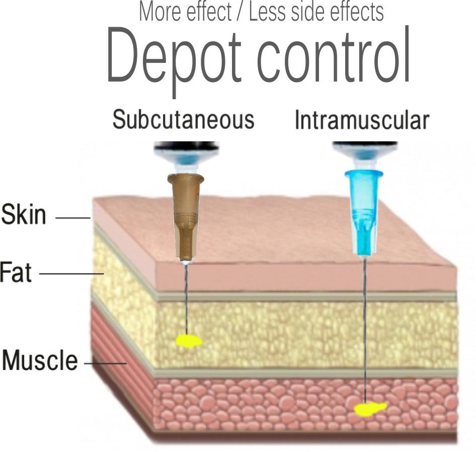depot injections of haldol